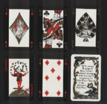 Collectible playing cards  players commemorative  by Nick Price